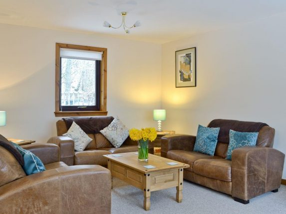 Glen View, Balnain Near Drumnadrochit | Dog Friendly Retreats Throughout Porch & Den Urqhuart Wood Glass Coffee Tables (Image 22 of 50)