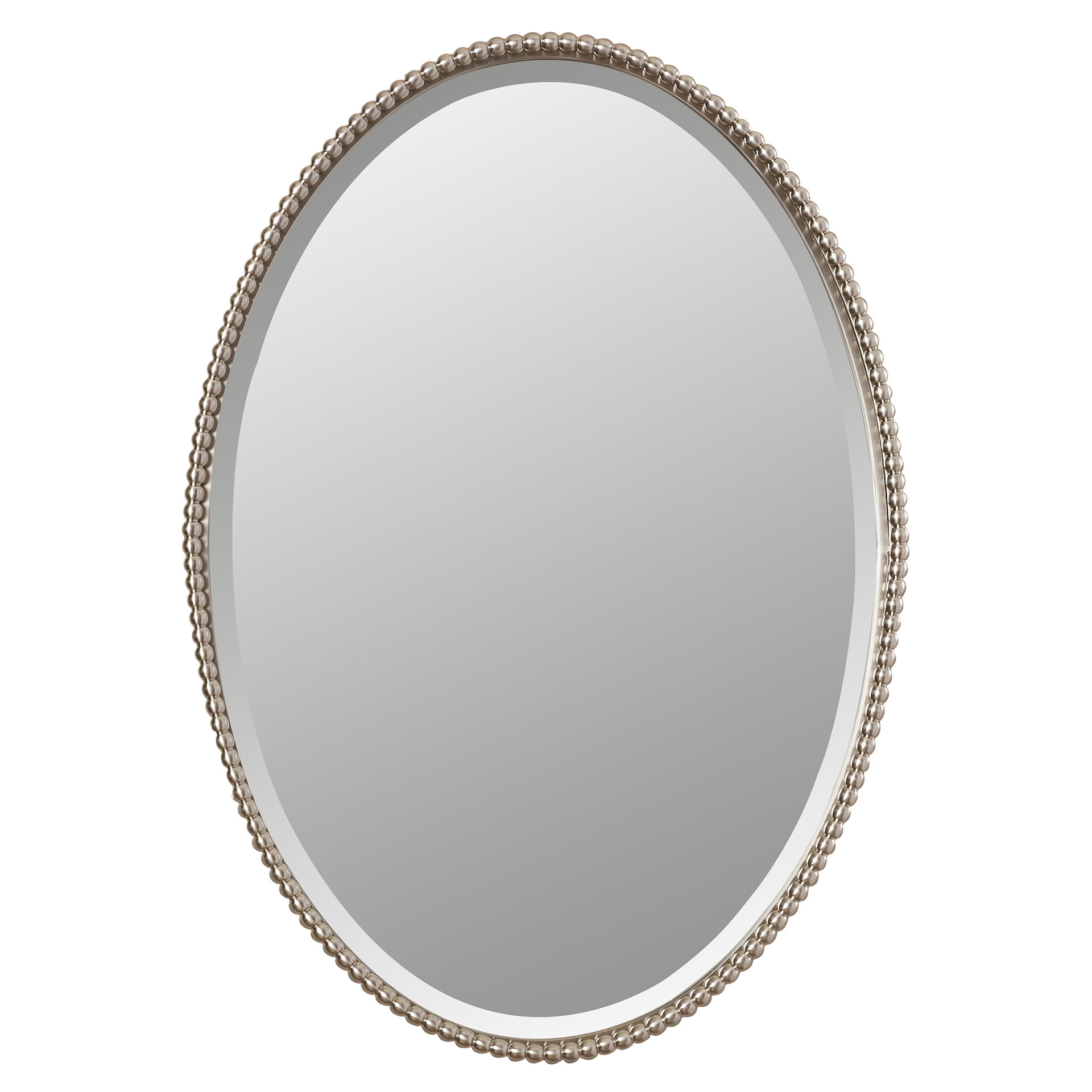 Featured Image of Glen View Beaded Oval Traditional Accent Mirrors