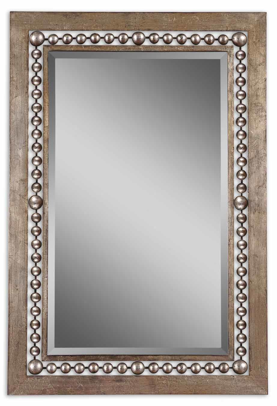 Global Inspired Metal Wall Mirror Inside Ulus Accent Mirrors (View 7 of 20)