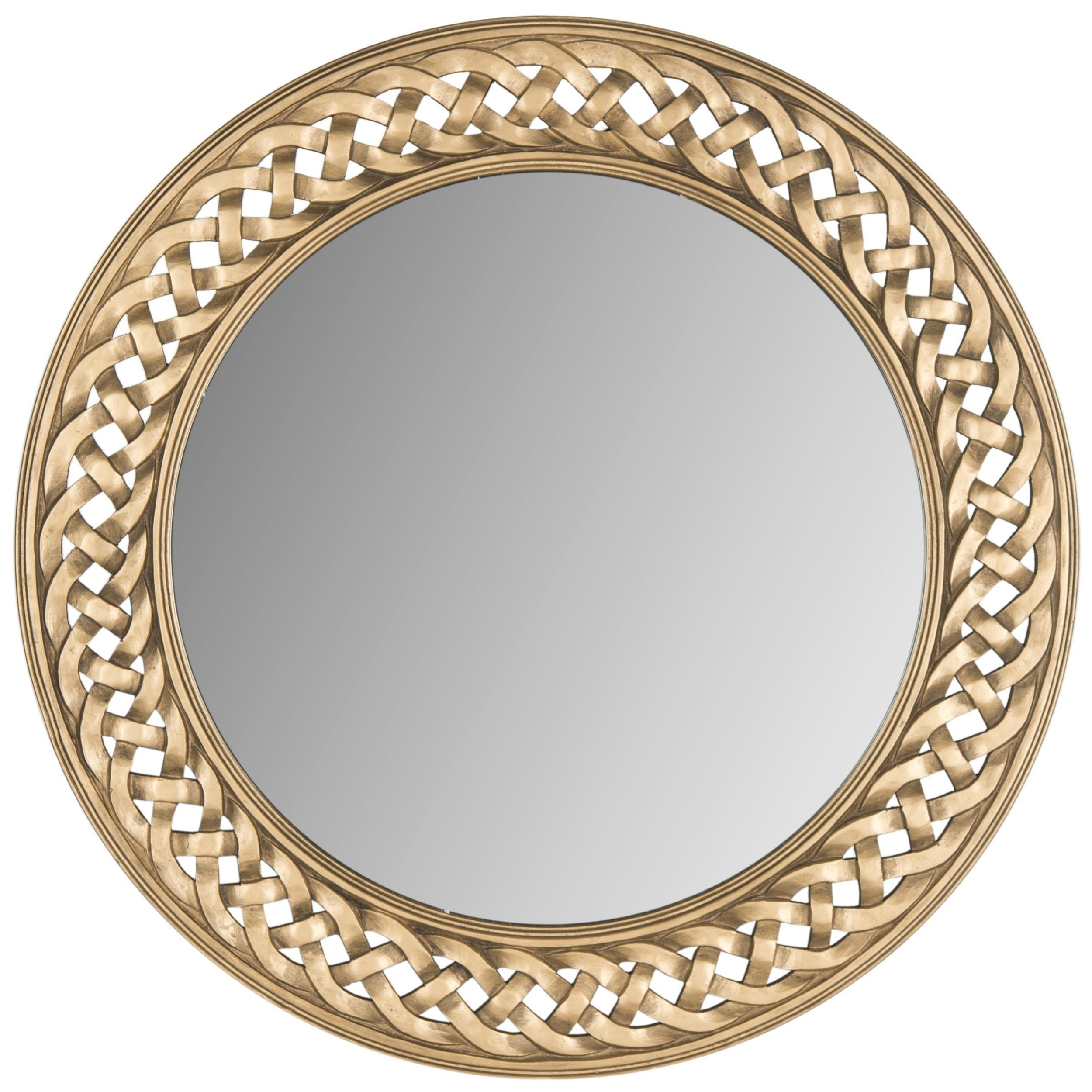 Gold Wall Mirrors You'll Love In 2019 | Wayfair (Image 6 of 20)