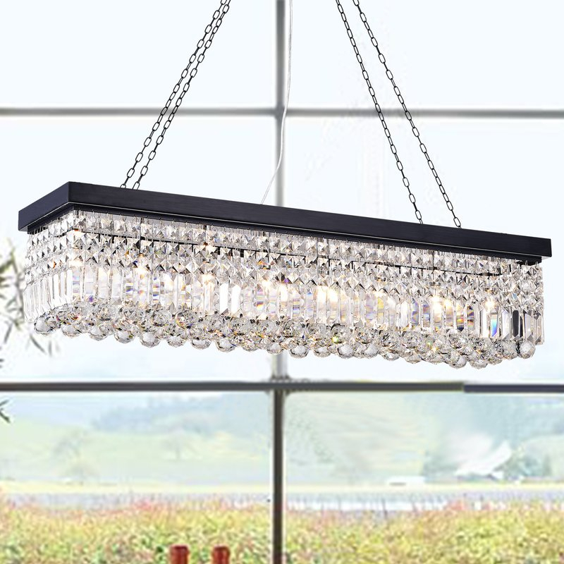 Featured Image of Gracelyn 8 Light Kitchen Island Pendants