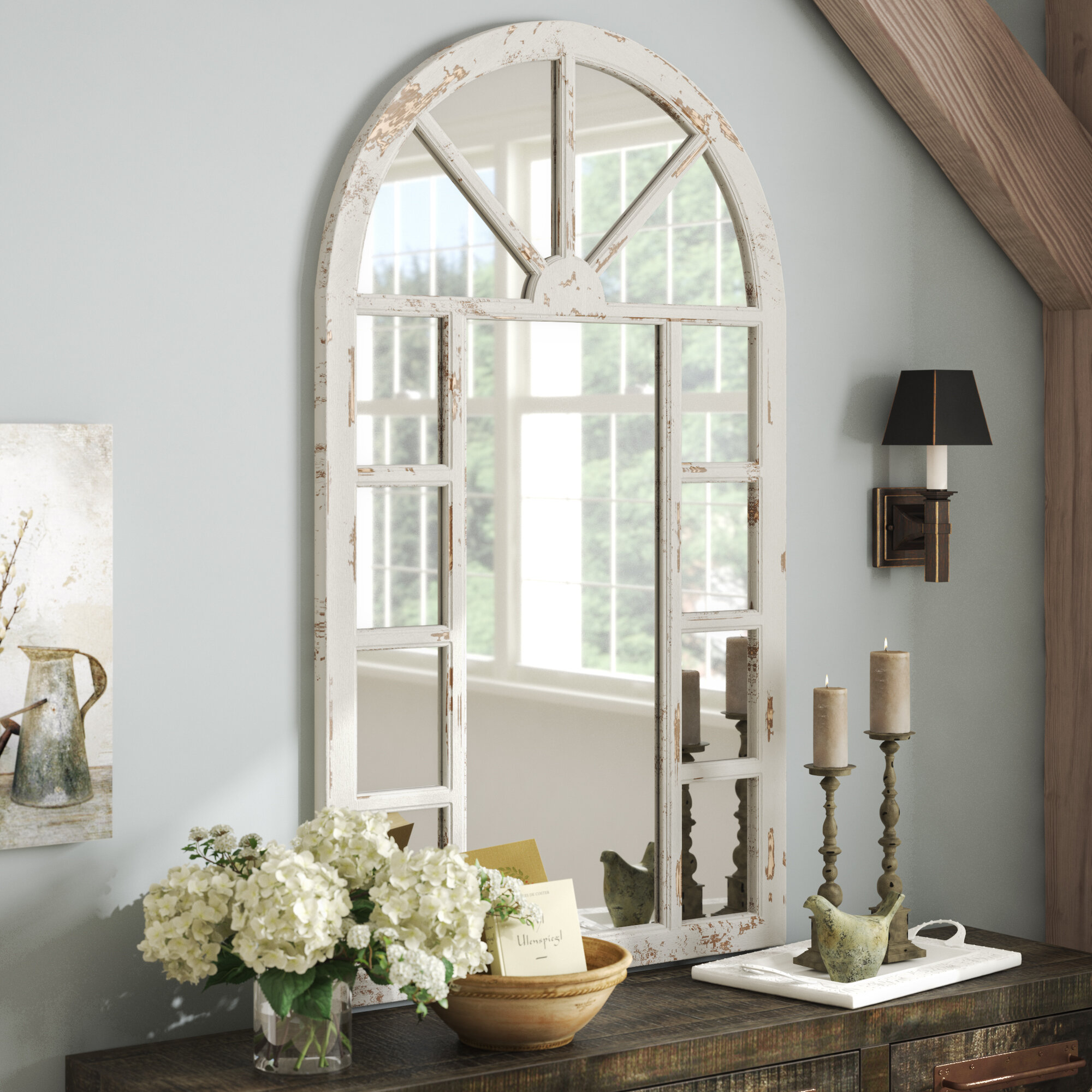 Gracie Oaks Radley Accent Mirror & Reviews | Wayfair With Regard To Romain Accent Mirrors (Image 10 of 20)