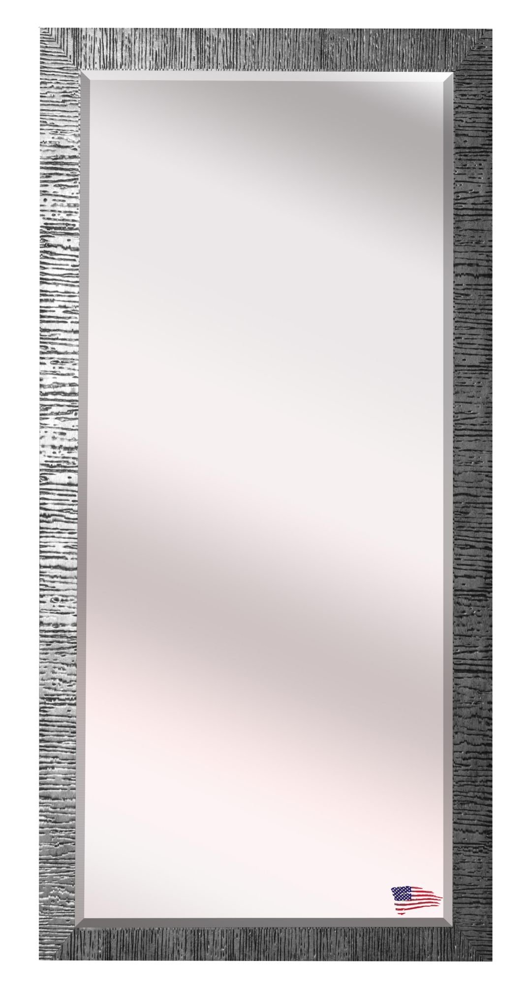 Grain Texture Modern & Contemporary Beveled Wall Mirror For Modern & Contemporary Beveled Wall Mirrors (View 9 of 20)