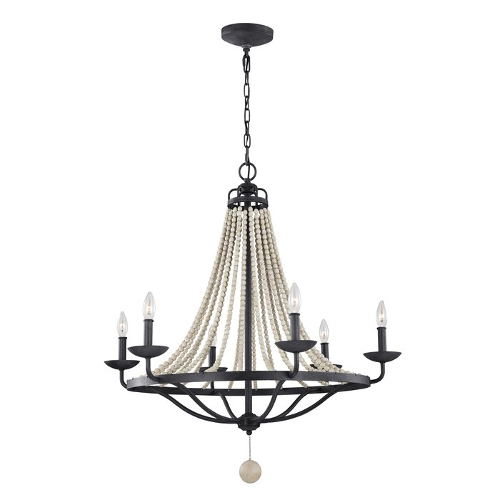 Granger 6 Light Empire Chandelier Within Diaz 6 Light Candle Style Chandeliers (Image 14 of 20)