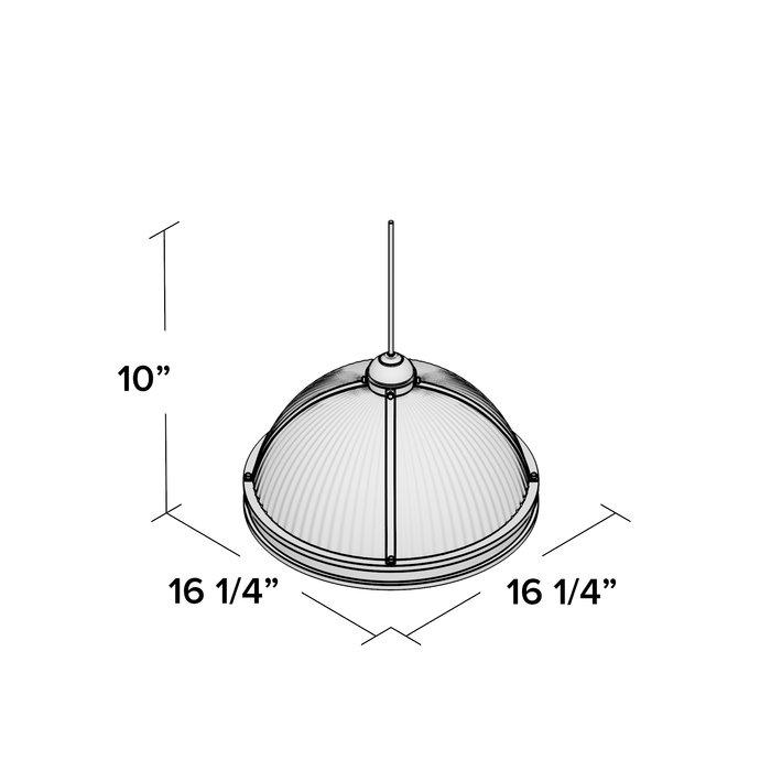 Granville 3 Light Single Dome Pendant Regarding Granville 2 Light Single Dome Pendants (View 14 of 25)