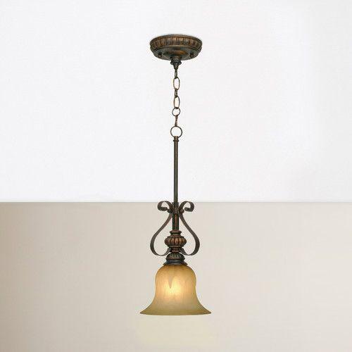 Gregory Scroll 1 Light Bell Pendant | Lighting | Pendant Intended For Abernathy 1 Light Dome Pendants (Image 18 of 25)