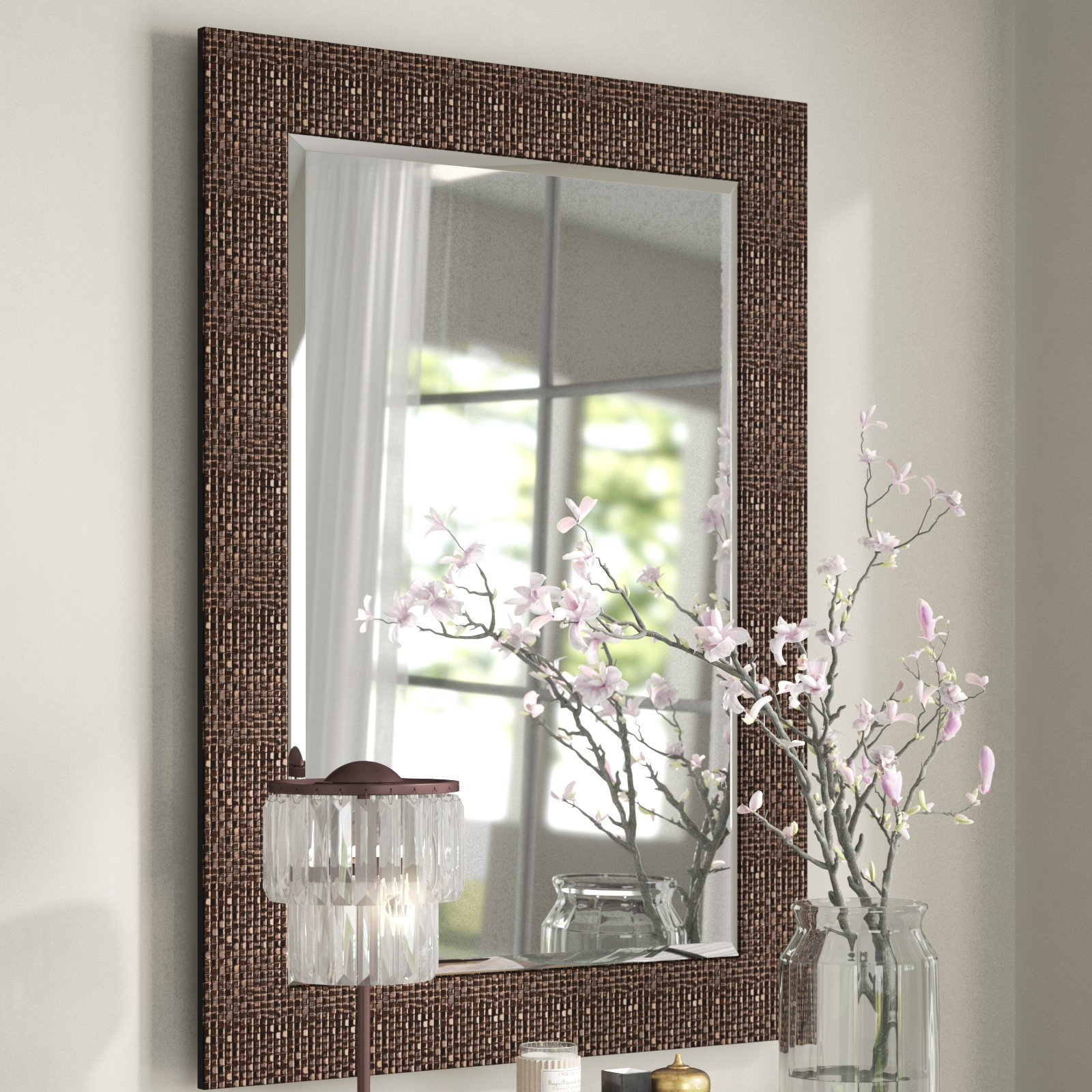 Featured Image of Grid Accent Mirrors