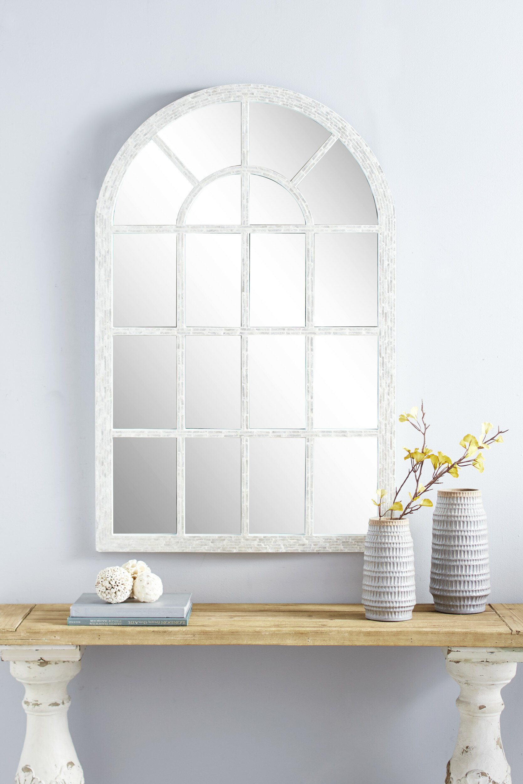Grid Mirror | Wayfair Intended For Grid Accent Mirrors (Image 9 of 20)