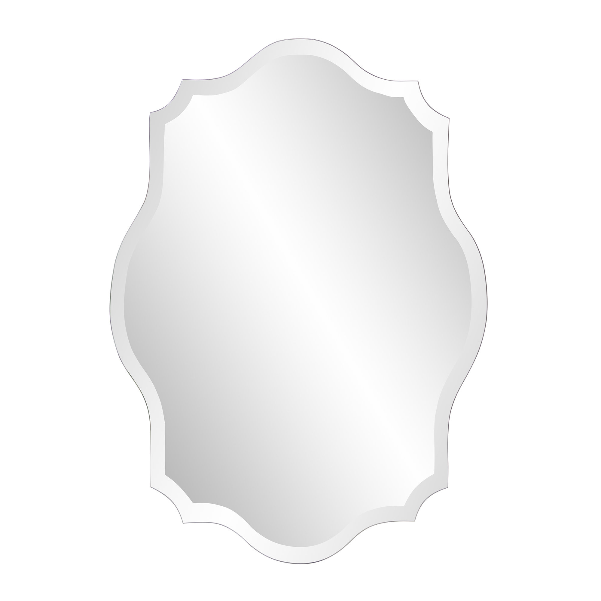 Guidinha Modern & Contemporary Accent Mirror Throughout Guidinha Modern & Contemporary Accent Mirrors (View 5 of 20)