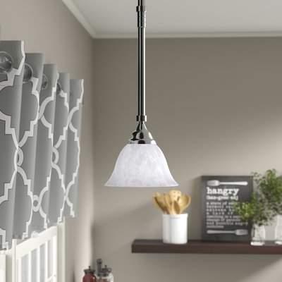 Gurney 1 Light Cone Pendant Within Devereaux 1 Light Single Globe Pendants (Image 11 of 25)