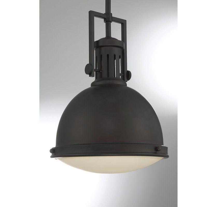 Hamilton 1 Light Single Dome Pendant | Lighting In 2019 With Regard To Hamilton 1 Light Single Dome Pendants (Image 10 of 25)