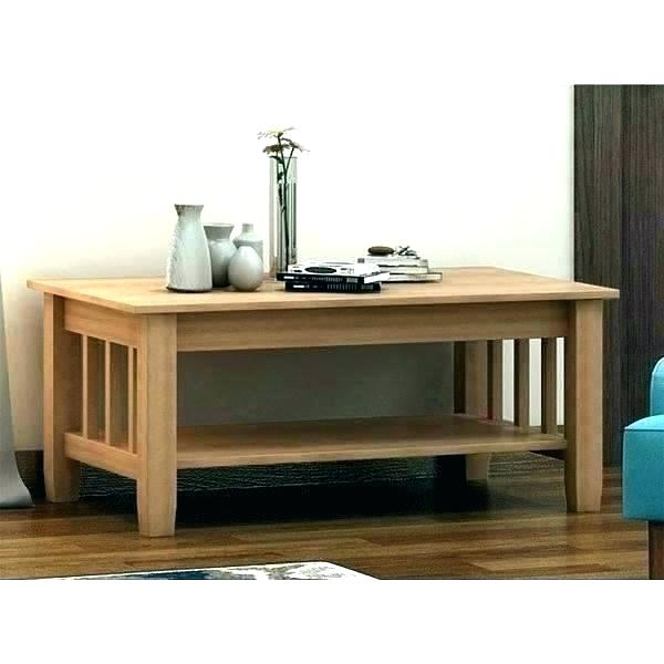 Hampton Unfinished Square Coffee Table – Decoratingarsyil (Image 7 of 50)