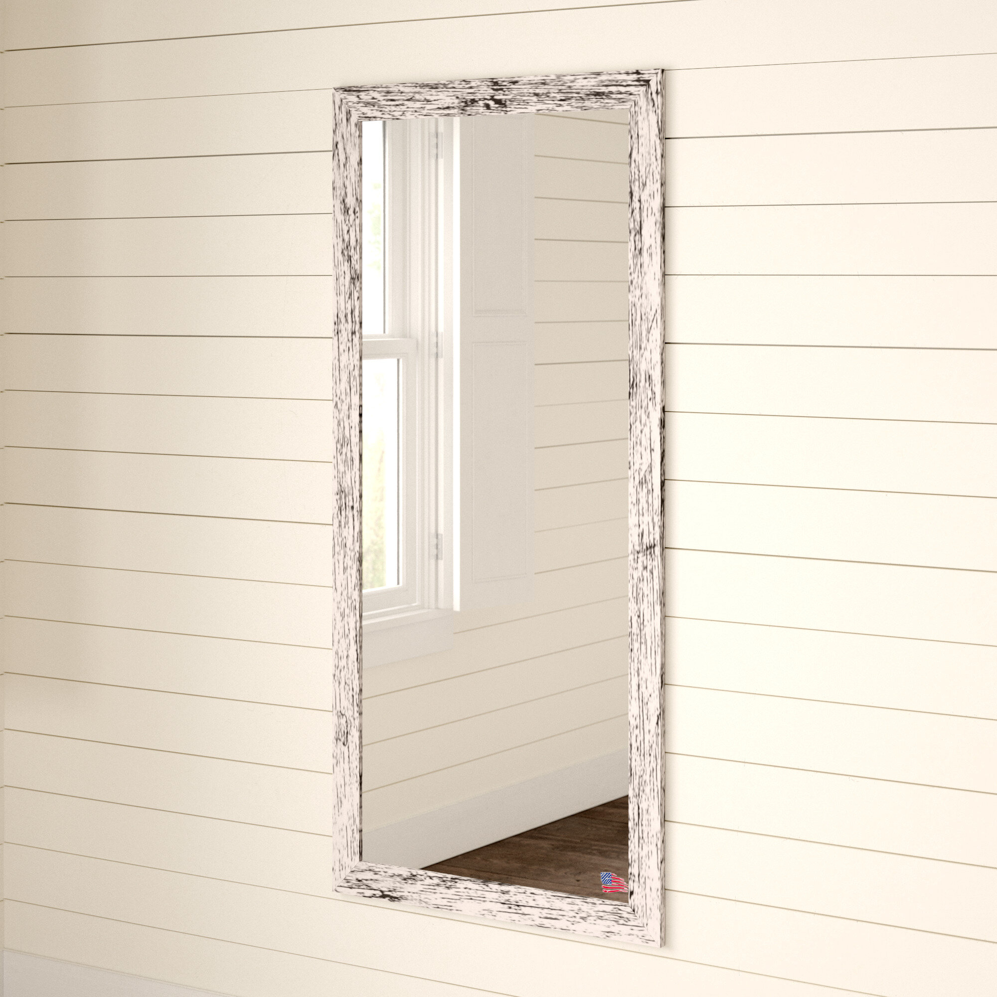 Handcrafted Farmhouse Full Length Mirror With Handcrafted Farmhouse Full Length Mirrors (Image 15 of 20)