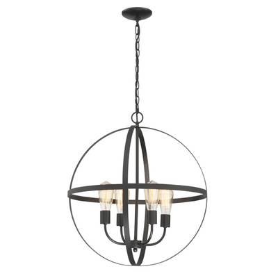 Hankinson 5 Light Globe Chandelier & Reviews | Birch Lane Throughout Verlene Foyer 5 Light Globe Chandeliers (View 14 of 20)