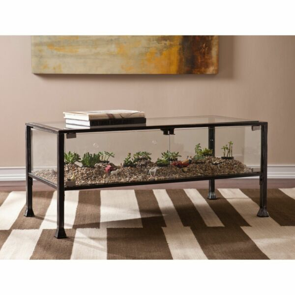 Harper Blvd Display/ Terrarium Coffee/ Cocktail Table | Ebay Intended For Harper Blvd Alecia Coffee Cocktail Tables (Image 11 of 25)