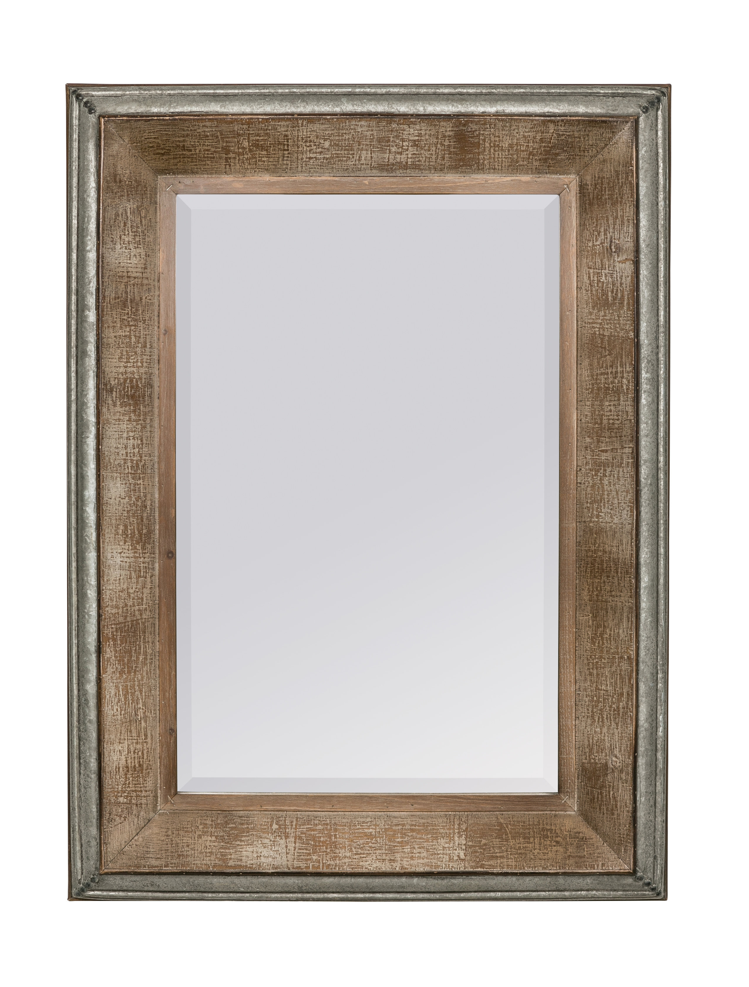 Hatten Modern & Contemporary Beveled Accent Mirror Regarding Modern & Contemporary Beveled Accent Mirrors (View 5 of 20)