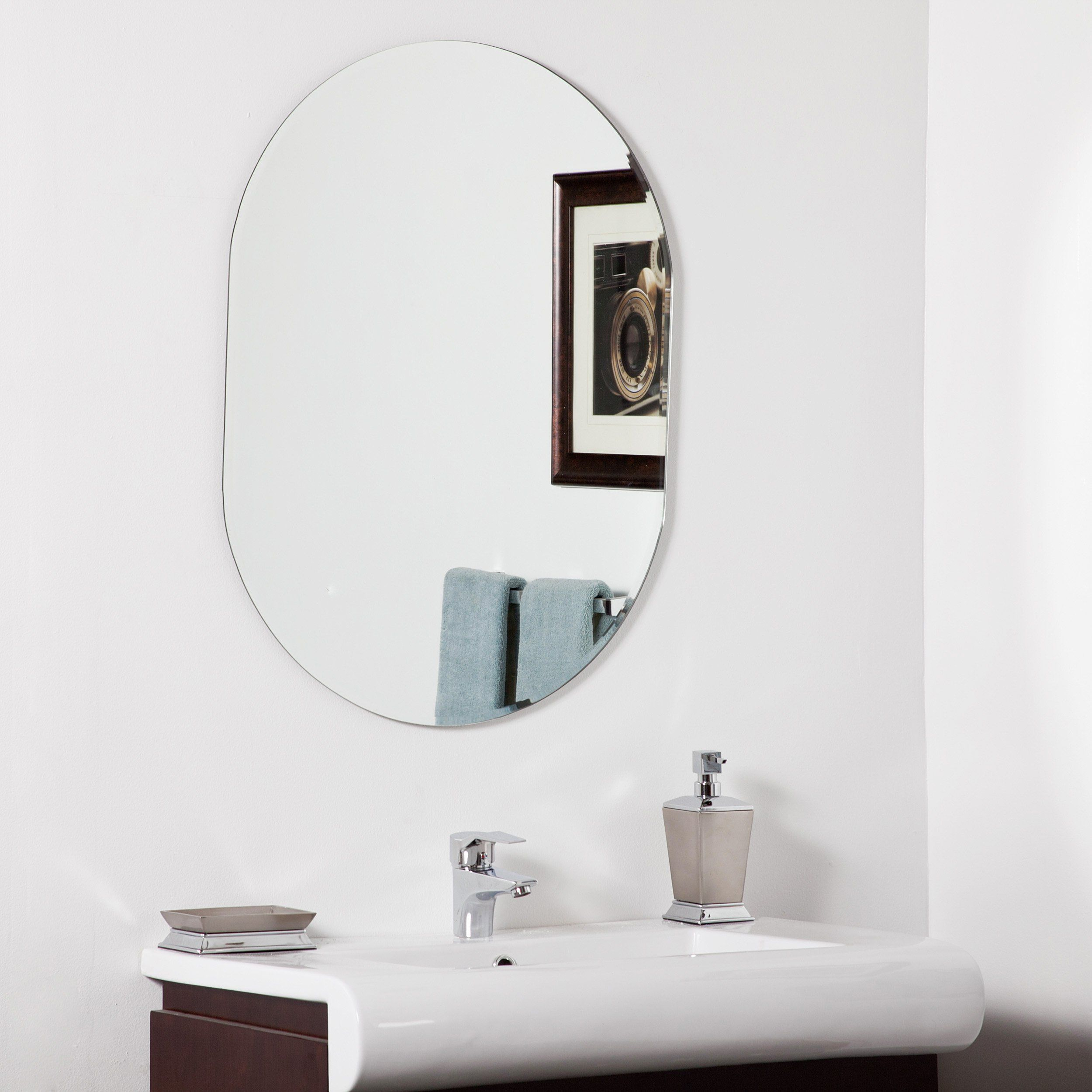 Have To Have It. Khloe Modern Bathroom Mirror – 23.6W X (View 13 of 20)