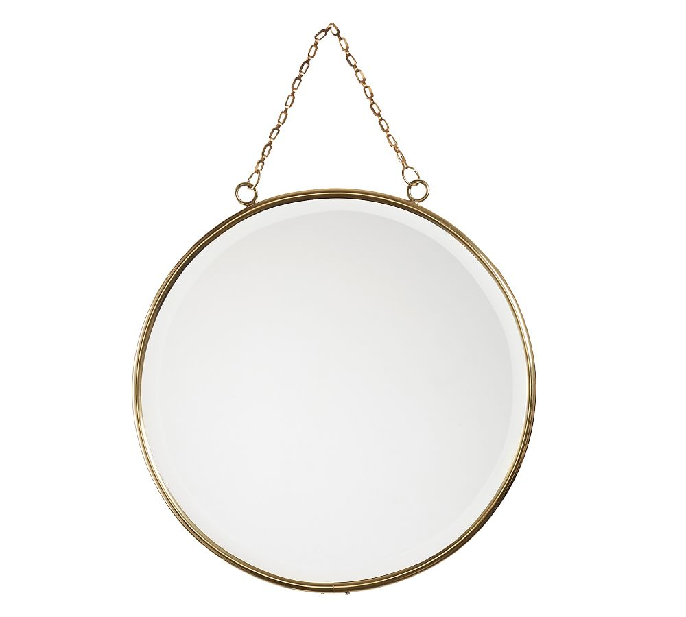 Hazel Mirrors In 2019 | Products | Mirror, Brass, Gold Necklace With Matthias Round Accent Mirrors (Image 5 of 20)