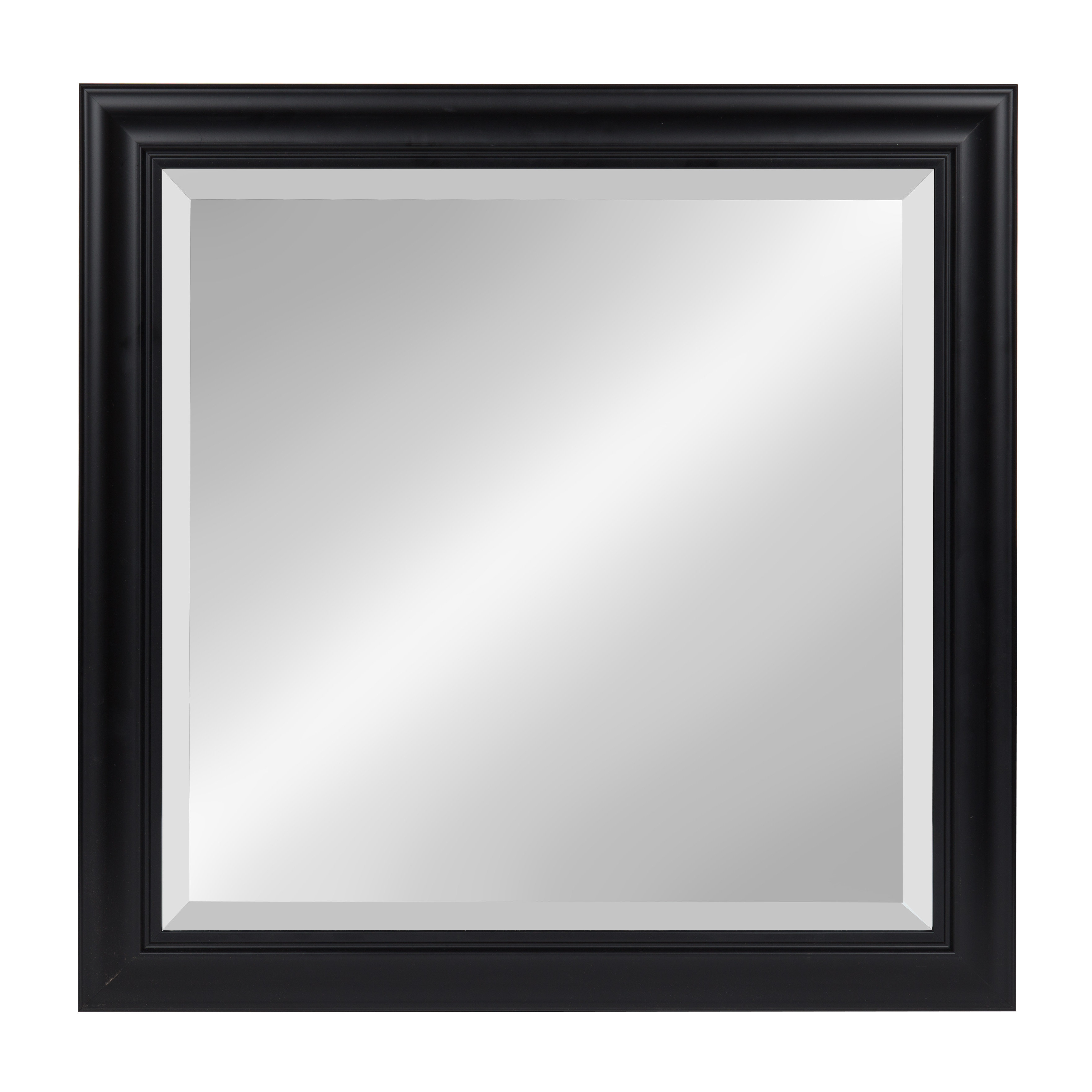 Hegarty Square Framed Accent Mirror Regarding Dedrick Decorative Framed Modern And Contemporary Wall Mirrors (Image 10 of 20)