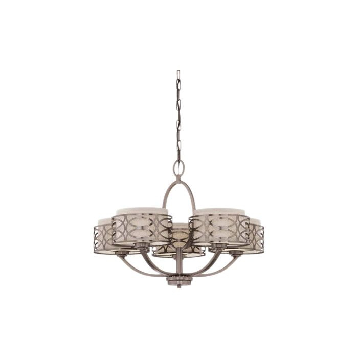 Helina 5 Light Drum Chandelier | New Home Ideas | Chandelier With Regard To Helina 1 Light Pendants (View 17 of 25)