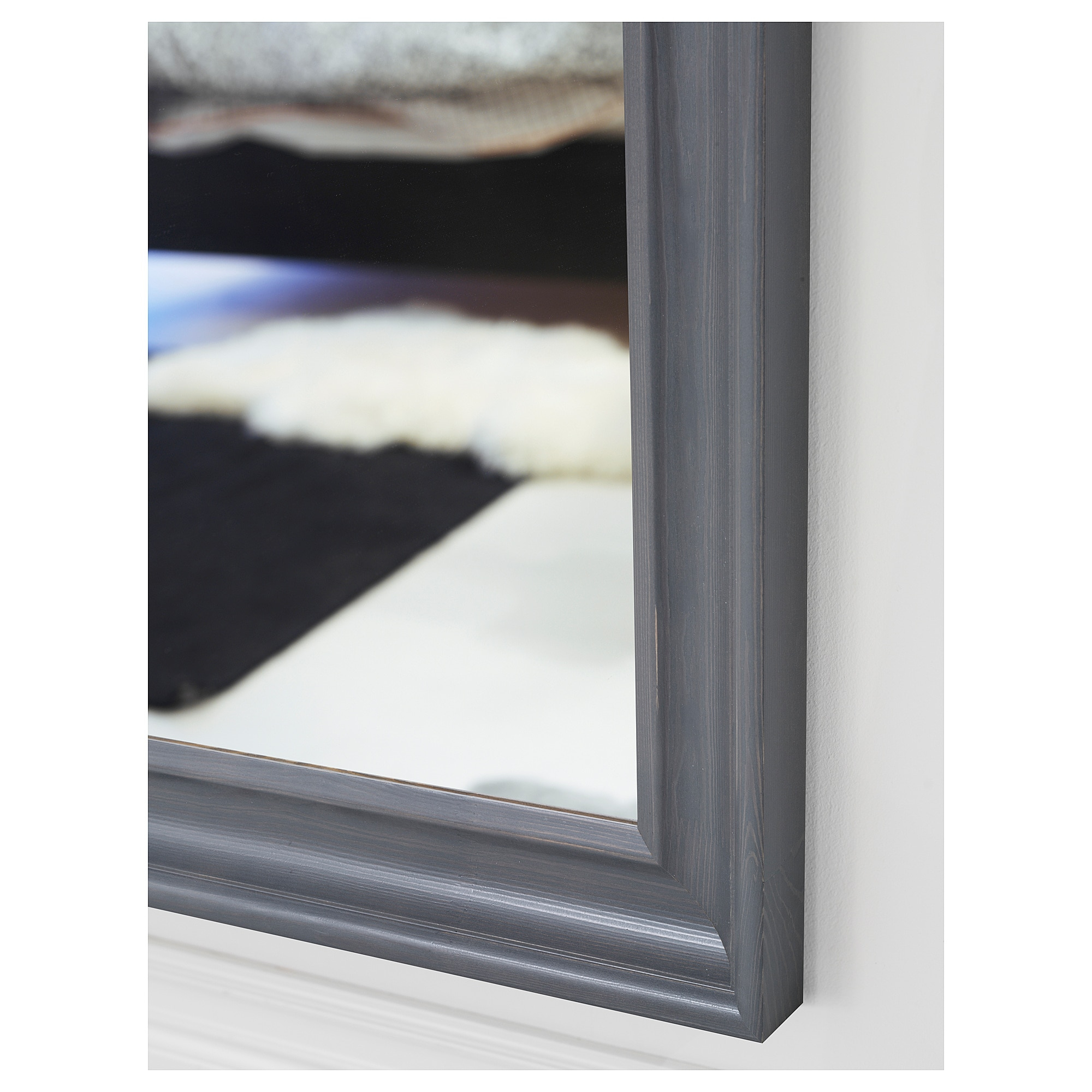 Hemnes – Mirror, Gray Stained Regarding Northend Wall Mirrors (View 11 of 20)