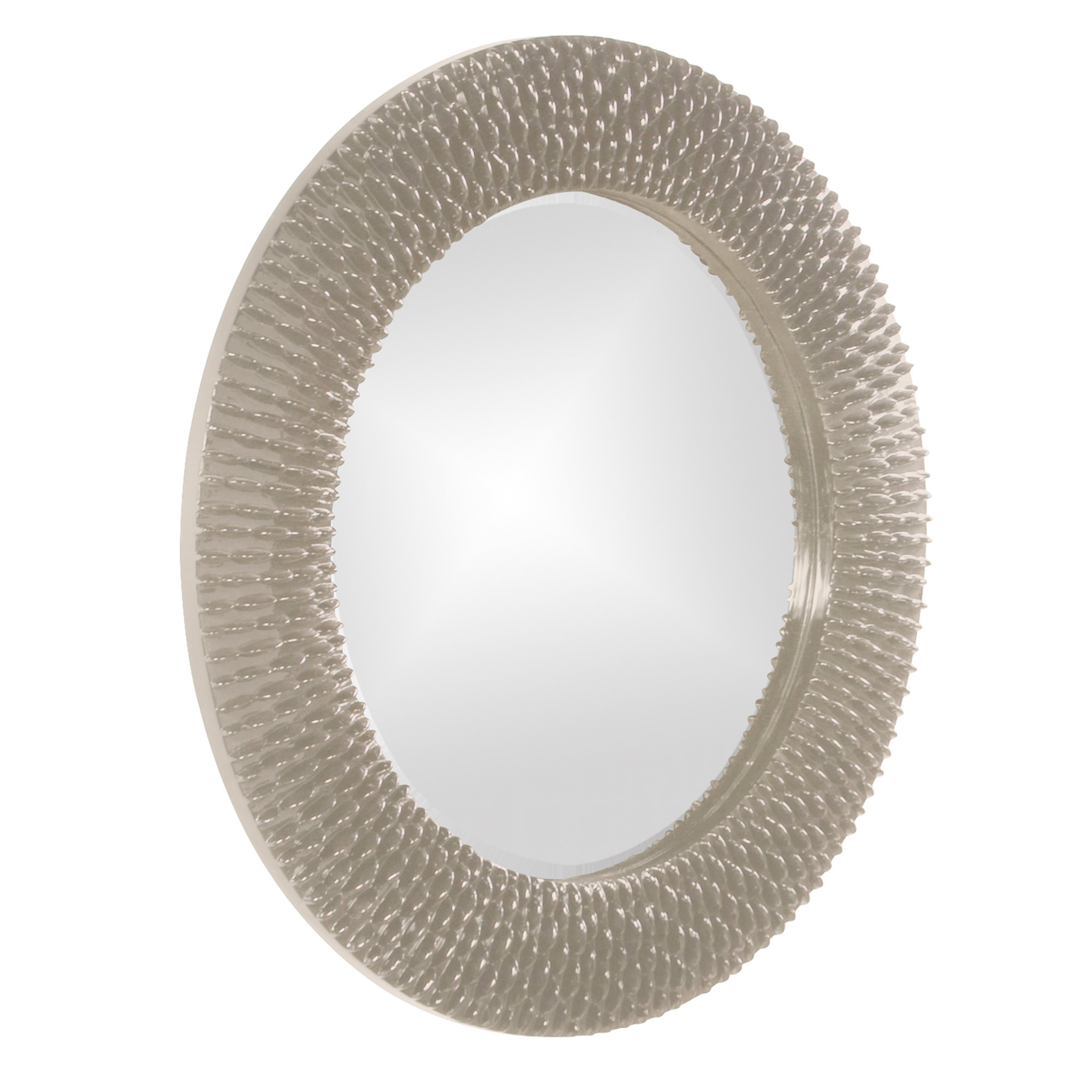 Hengelo Wall Mirror Regarding Point Reyes Molten Round Wall Mirrors (View 5 of 20)