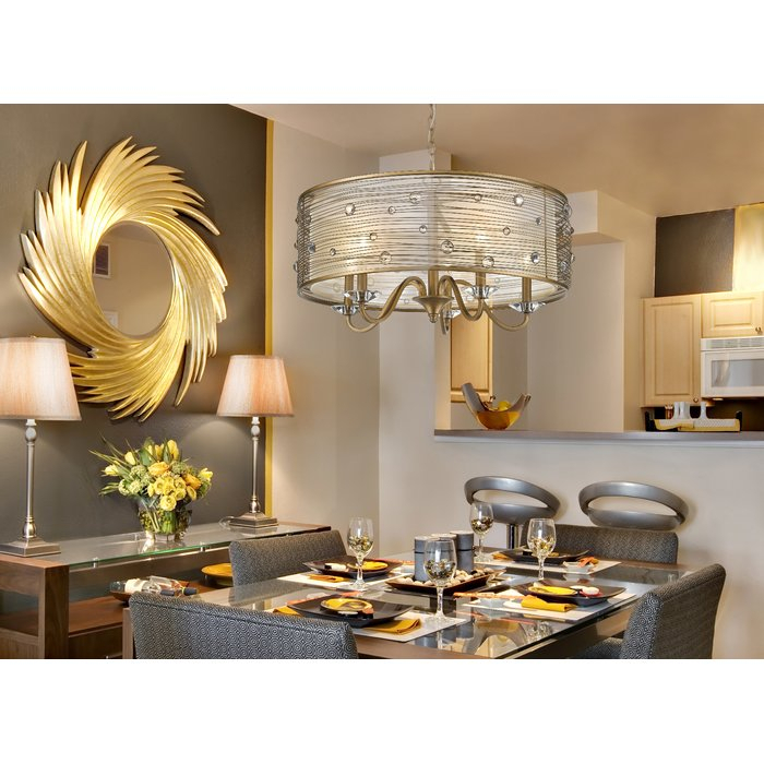 Featured Image of Hermione 5 Light Drum Chandeliers