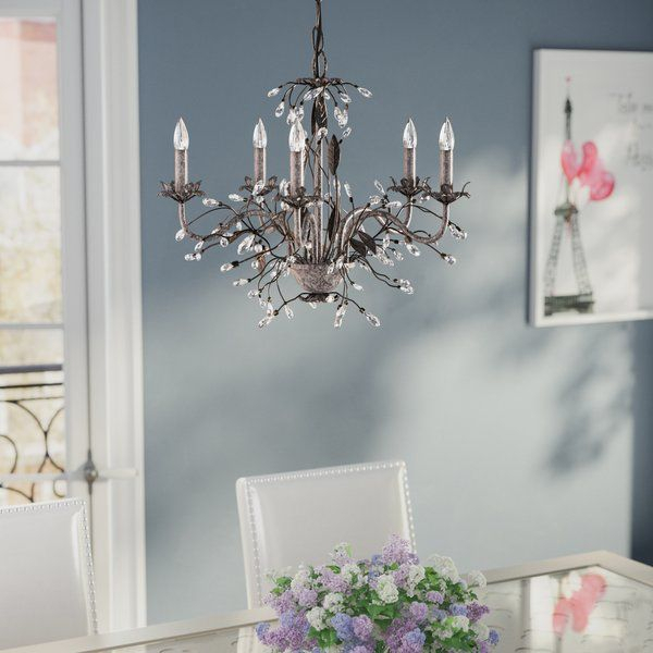 Hesse 5 Light Candle Style Chandelier In 2019   Lighting For Hesse 5 Light Candle Style Chandeliers (Image 14 of 20)