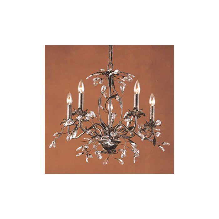 Hesse 5 Light Candle Style Chandelier With Hesse 5 Light Candle Style Chandeliers (Image 16 of 20)