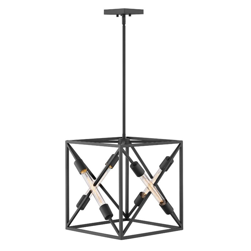 Featured Image of Hewitt 4 Light Square Chandeliers