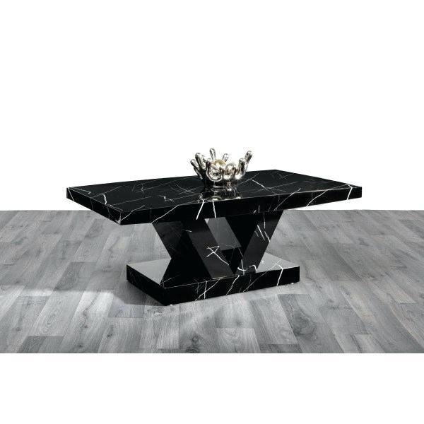 High Gloss Black Coffee Table – Happyacademy (View 25 of 25)