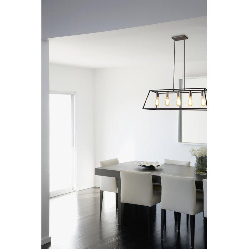 Featured Image of Hinerman 5 Light Kitchen Island Pendants