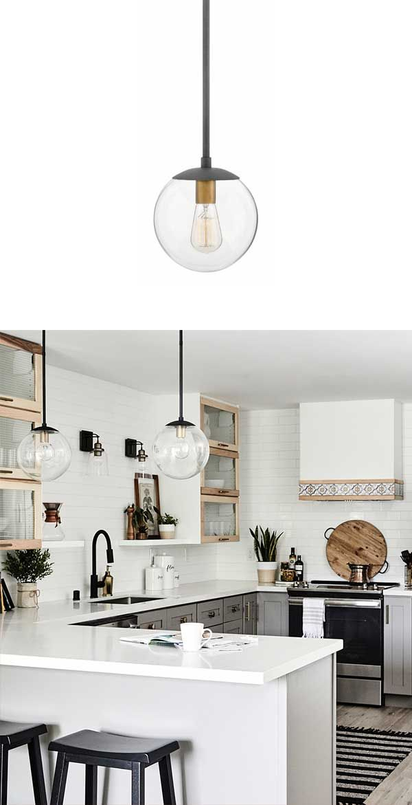 Hinkley Lighting Warby Pendant 3747Dz | Ig With Schutt 4 Light Kitchen Island Pendants (View 17 of 25)