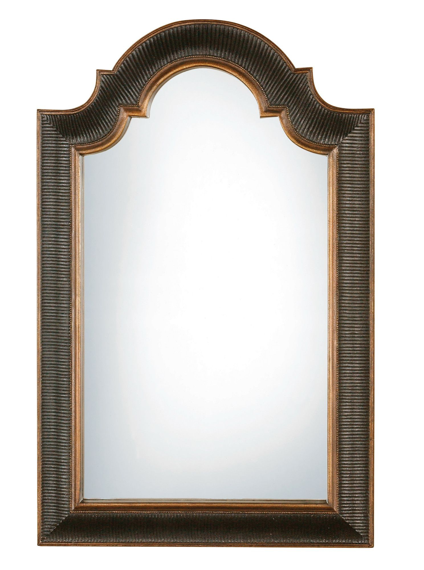 Hoffman Ribbed Wall Mirror | Mirrors For Bathroom | Home With Regard To Arch Vertical Wall Mirrors (Image 13 of 20)