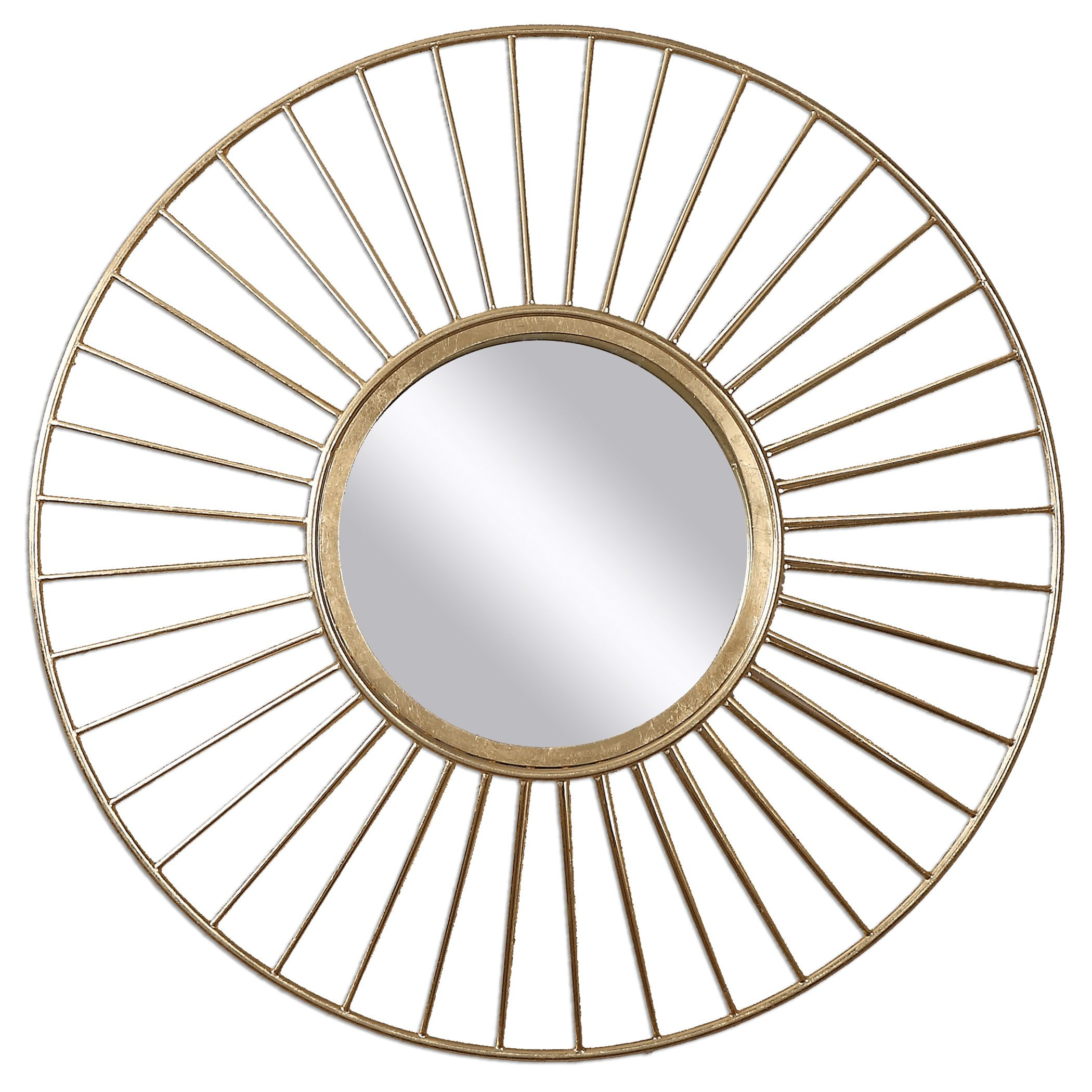 Home Decor: Classy Uttermost Mirror For Home Decor Regarding Sun Shaped Wall Mirrors (Image 9 of 20)