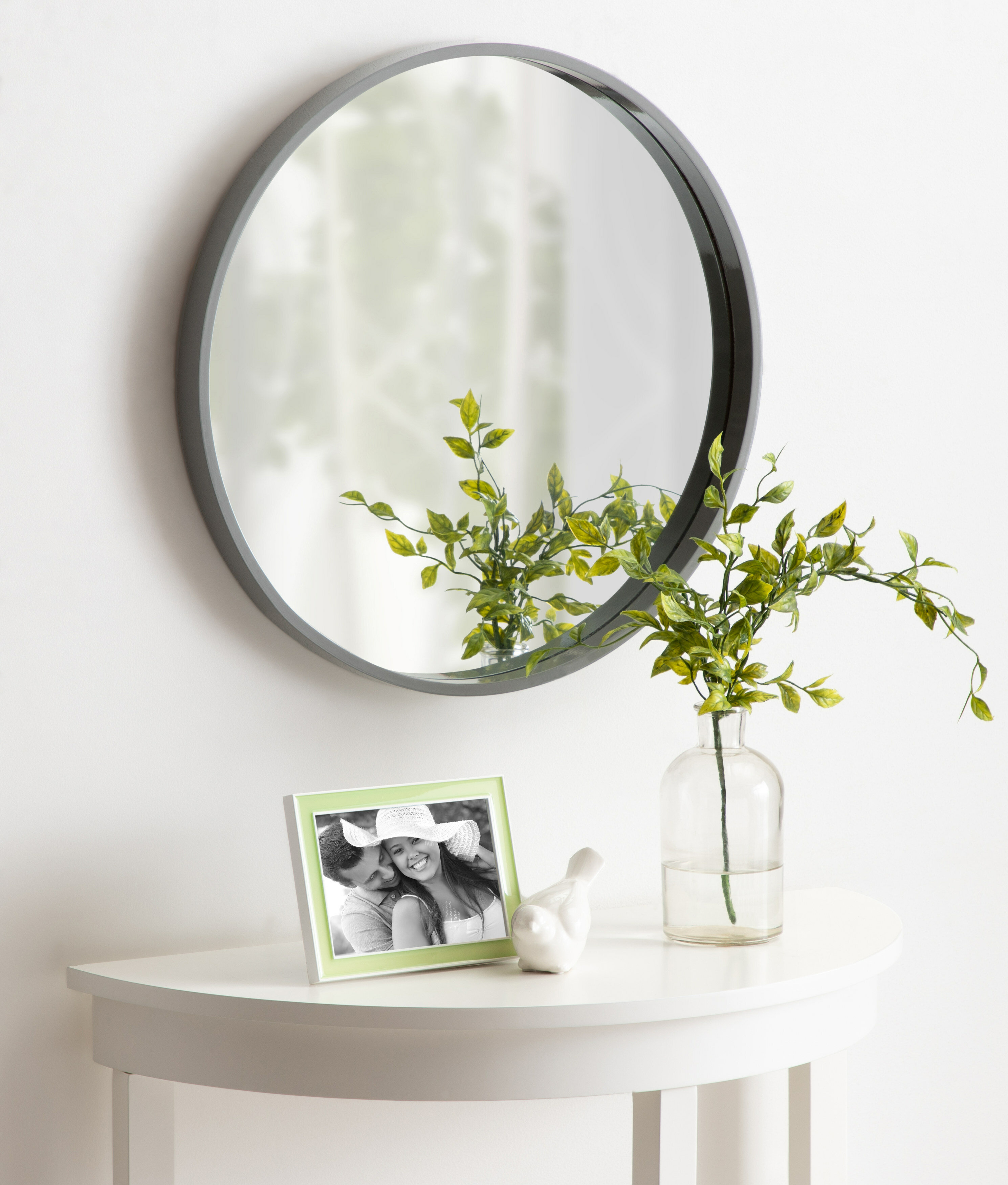 Homerton Round Wall Accent Mirror With Regard To Swagger Accent Wall Mirrors (View 6 of 20)