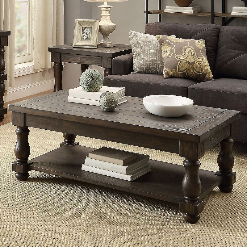 Homevance Byers Coffee Table | Products | Table, Furniture, Room For Jessa Rustic Country 54 Inch Coffee Tables (Image 14 of 25)