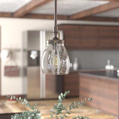 Houon 1 Light Cone Bell Pendant & Reviews   Joss & Main Intended For Houon 1 Light Cone Bell Pendants (Image 10 of 25)