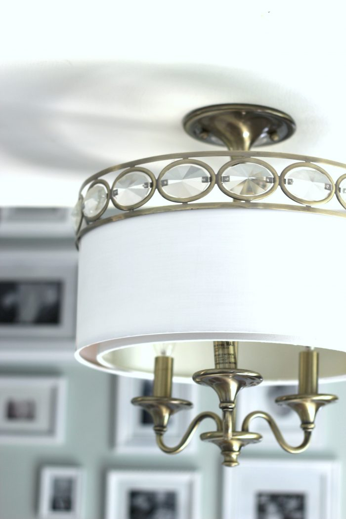 How To Paint Light Fixtures (Update Without Taking Them Down For Donna 4 Light Globe Chandeliers (View 19 of 20)