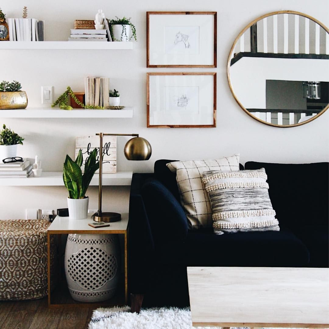 How To Use Living Room Wall Mirrors The Right Way Within Elevate Wall Mirrors (Image 17 of 20)