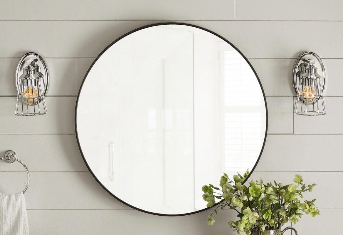 Hub Modern And Contemporary Accent Mirror | Bathroom Goods Throughout Hub Modern And Contemporary Accent Mirrors (Photo 19 of 20)