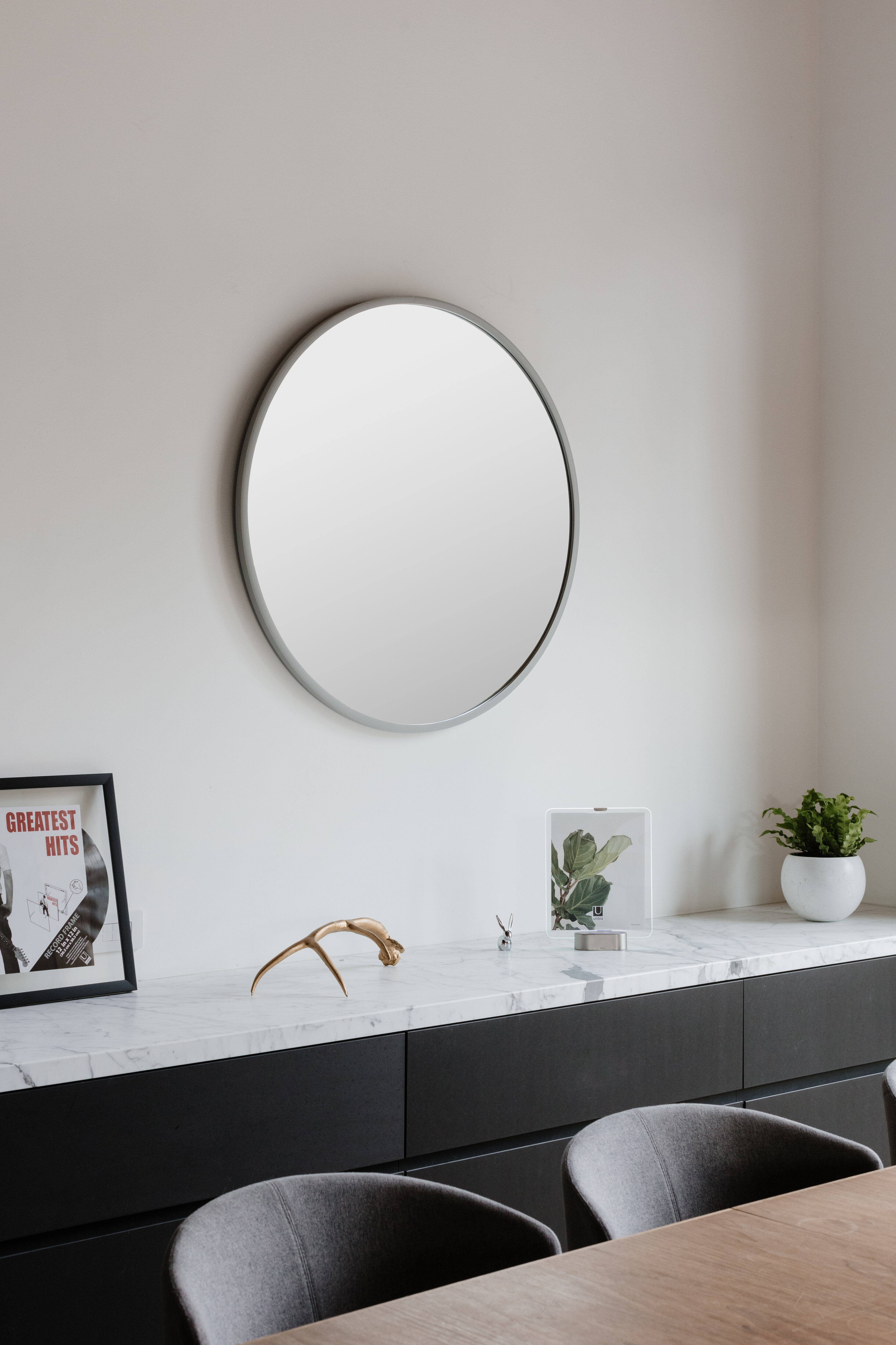 Hub Modern And Contemporary Accent Mirror For Hub Modern And Contemporary Accent Mirrors (Image 4 of 20)