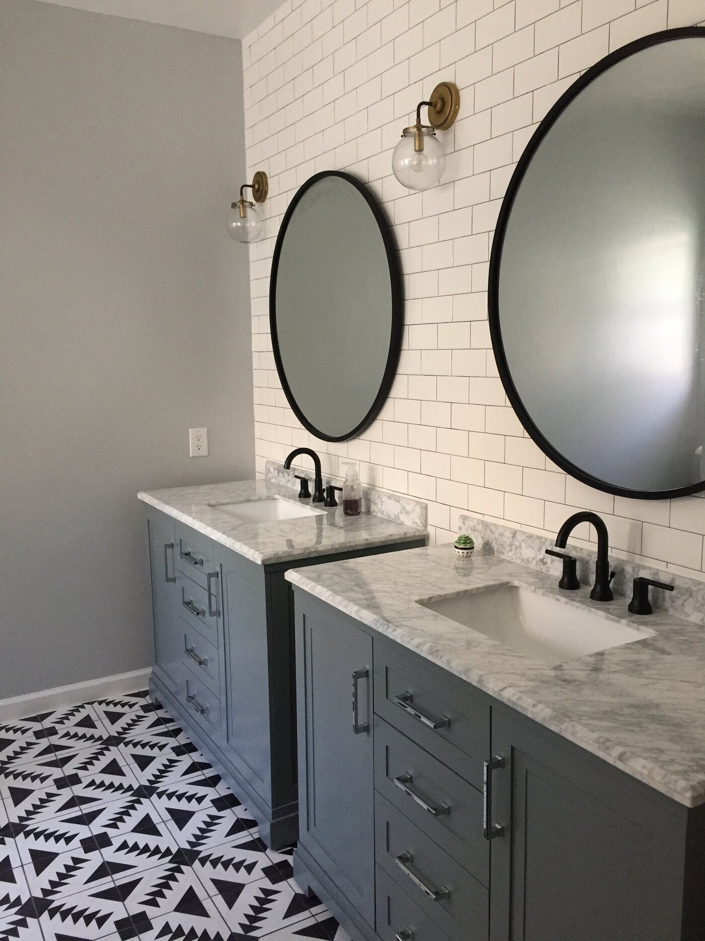 Hub Modern And Contemporary Accent Mirror In 2019 | Bathroom With Newtown Accent Mirrors (Image 6 of 20)