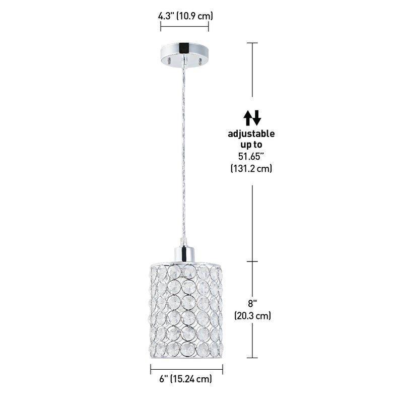 Hurst 1 Light Single Cylinder Pendant Intended For Hurst 1 Light Single Cylinder Pendants (Image 14 of 25)