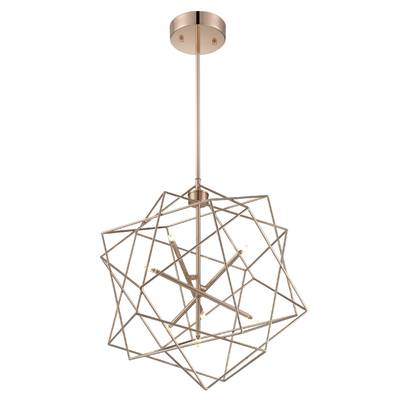 Hydetown 1 Light Single Geometric Pendant With Hydetown 1 Light Single Geometric Pendants (Image 16 of 25)
