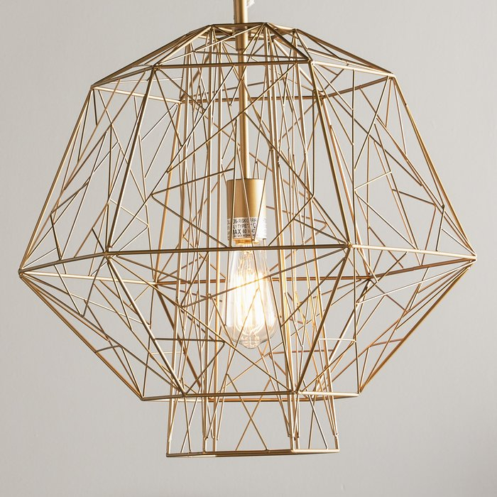 Featured Image of Hydetown 1 Light Single Geometric Pendants