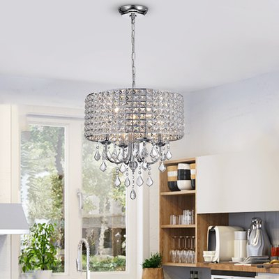 Ice Palace 4 Light Crystal Chandelier | Home | Chandelier With Aldgate 4 Light Crystal Chandeliers (View 6 of 20)
