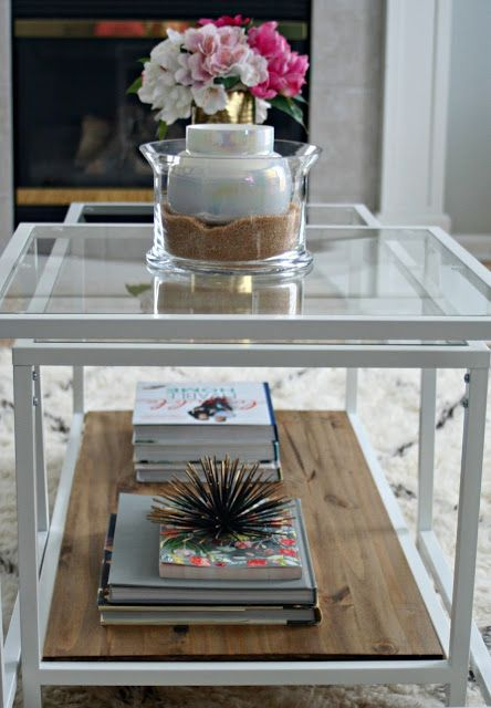 Ikea Restyle: Vittsjo Hack | Ikea | Coffee Table Ikea Hack Within Strick & Bolton Florence Chrome Coffee Tables (Image 3 of 25)