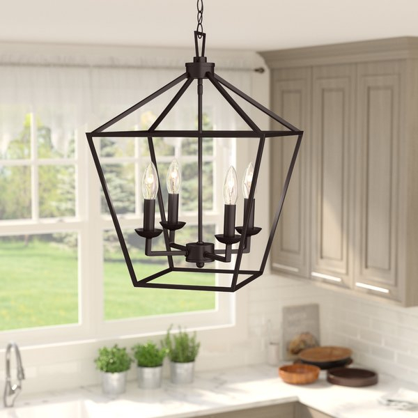 Indoor Lantern Pendant Lights | Wayfair With Regard To Warner Robins 3 Light Lantern Pendants (Image 10 of 25)