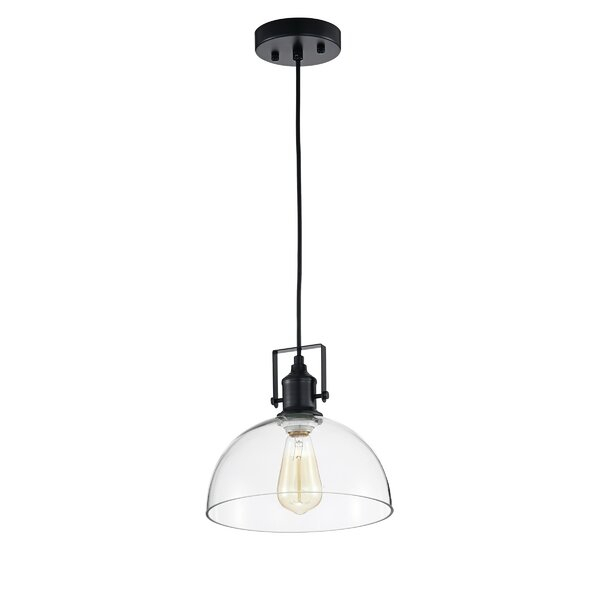 Industrial Farmhouse Lighting | Wayfair Within Akash Industrial Vintage 1 Light Geometric Pendants (Image 11 of 25)